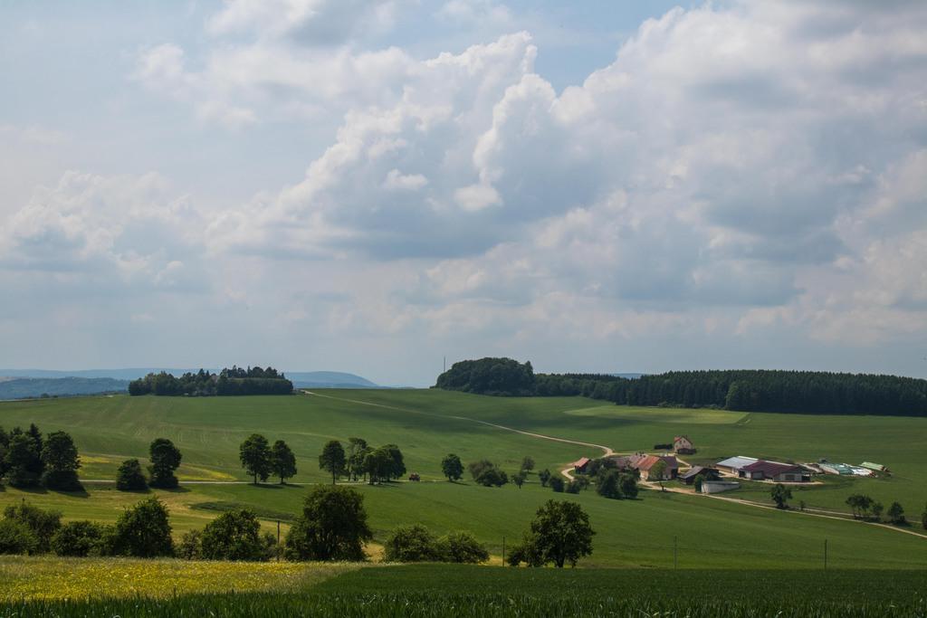 paysage vallonné - EuroVelo 6 Allemagne