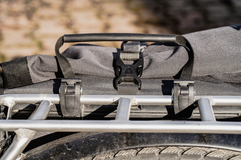 Fixation haute - Sacoche Ortlieb - Voyage à vélo