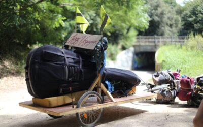 ITW – Un voyage à vélo musical avec le collectif Jazz Voyageur
