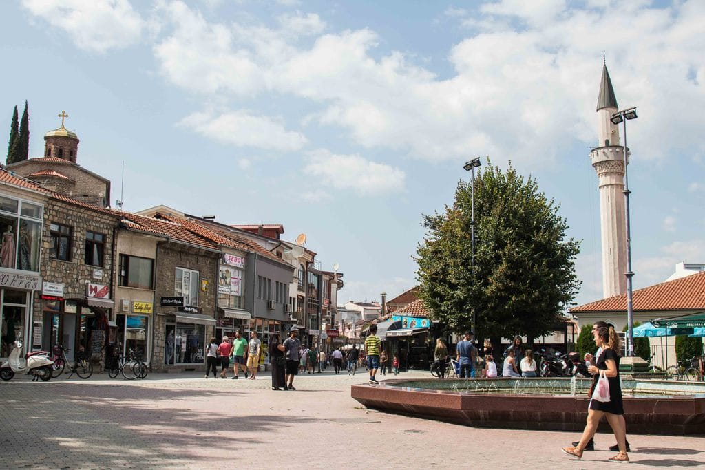 Vieux bazaar - Ohrid