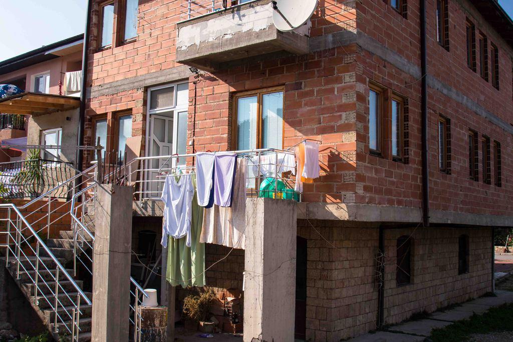 Maison en construction - Ohrid