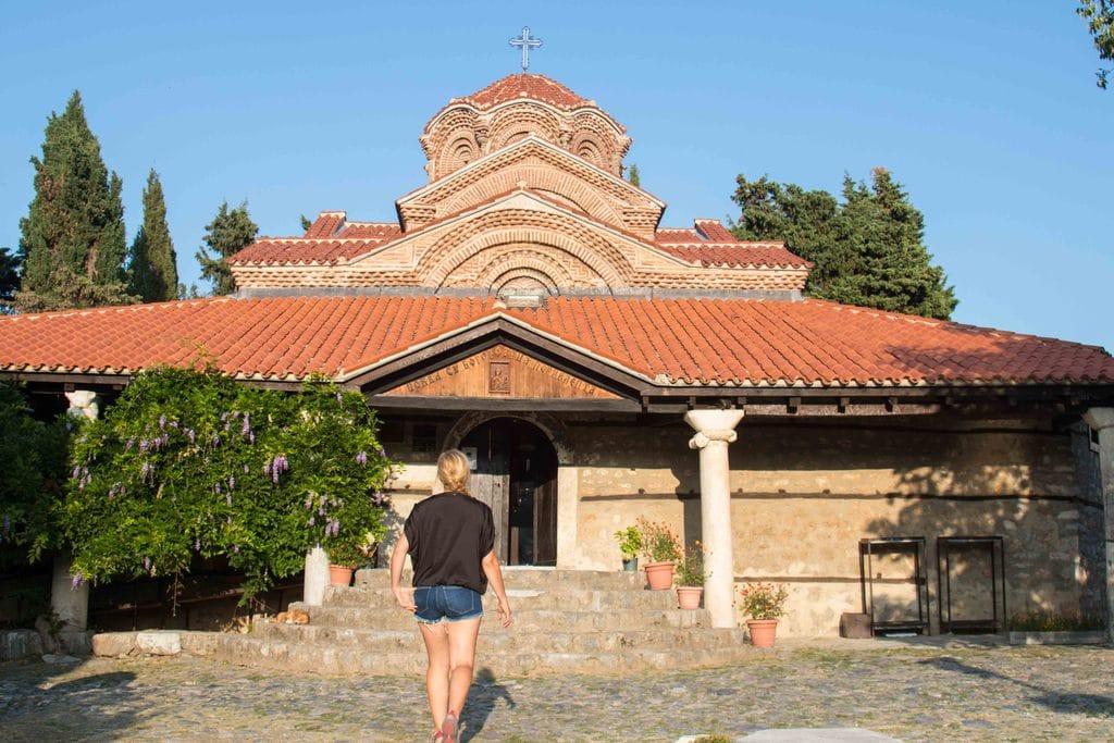 Église Sainte Marie Peribleptos - Ohrid