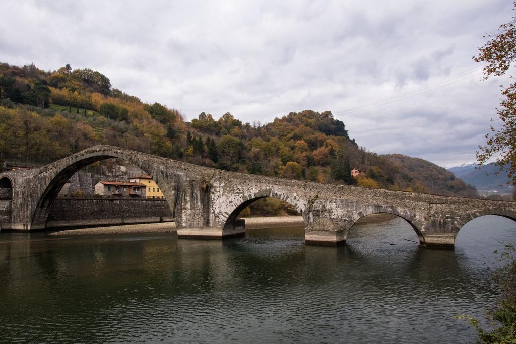 arches - pont du diable - Borgo A Mozzano