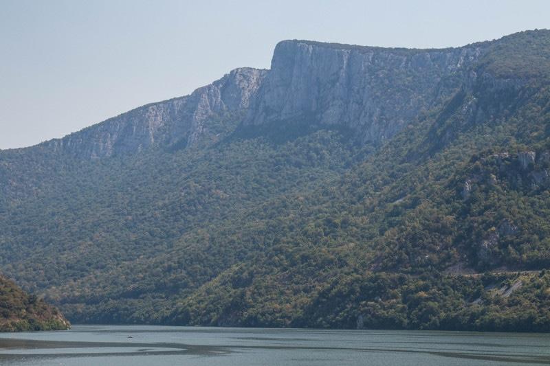 les collines des portes de fer, Roumanie
