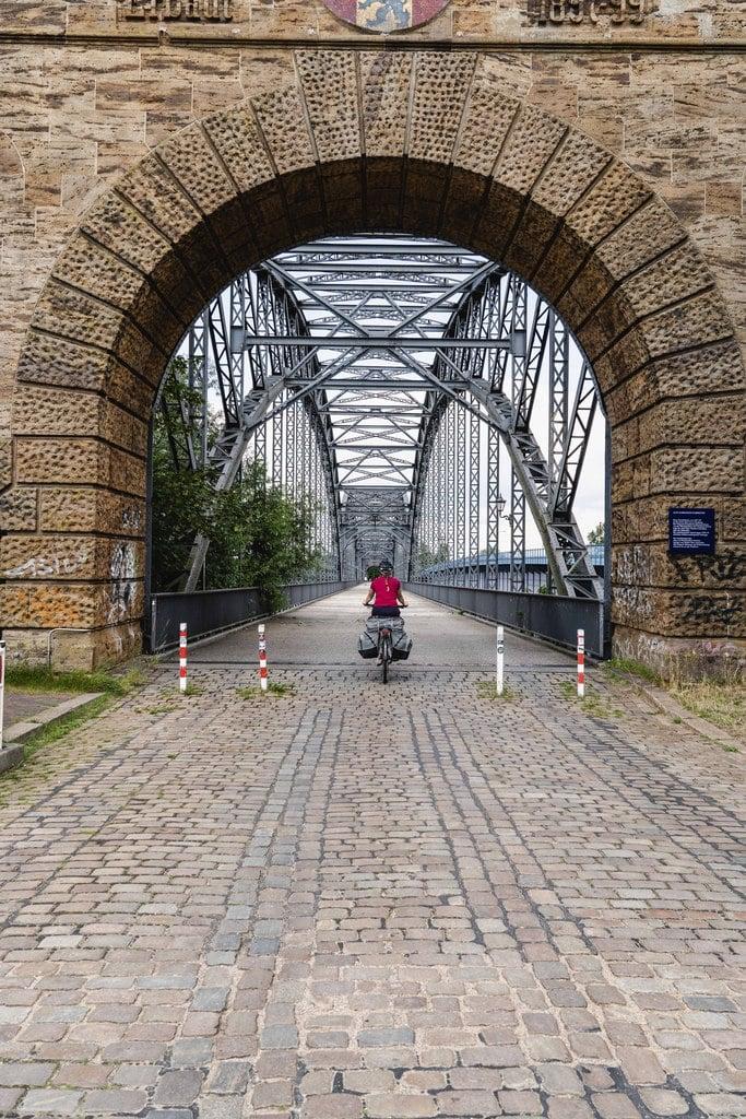 Vieux pont de Harburg - EuroVelo 3 - Allemagne