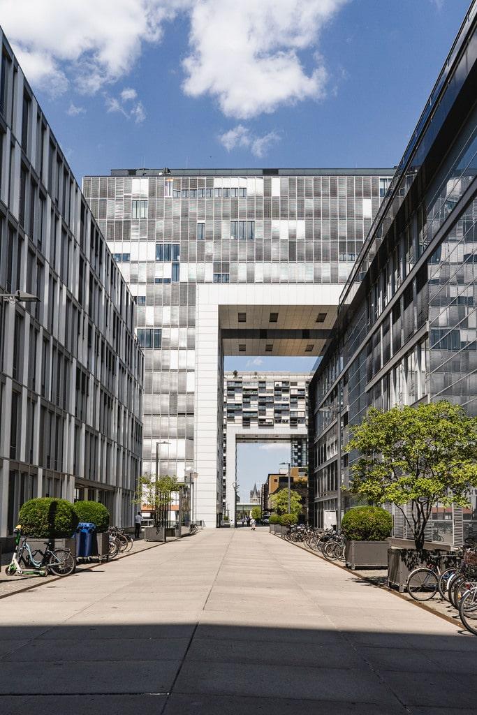 Quartier réhabilité Cologne