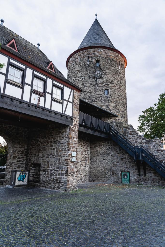 Rheinbach, ville médiévale sur l'EuroVelo 3 en Allemagne