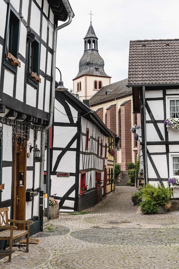 Heimbach, petite ville charmante