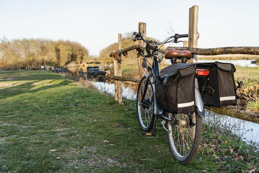 Vélo - marais de la Briére