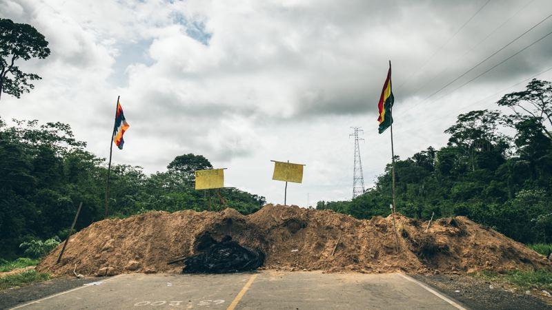 Blocage en Amazonie