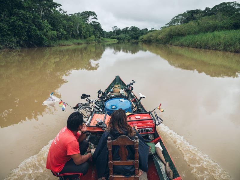 Rio Béni - Amazonie