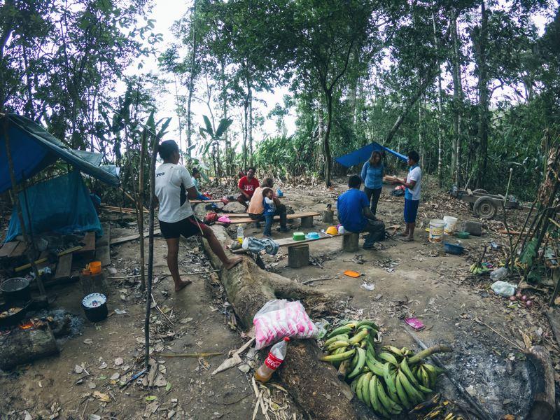 L'Amazonie en pirogue