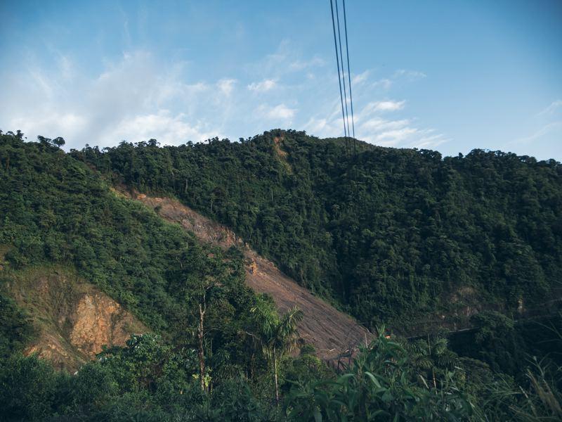 Éboulement - Amazonie