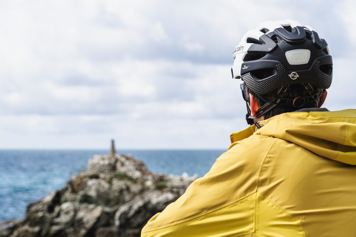 Denni - plage - Italie à vélo
