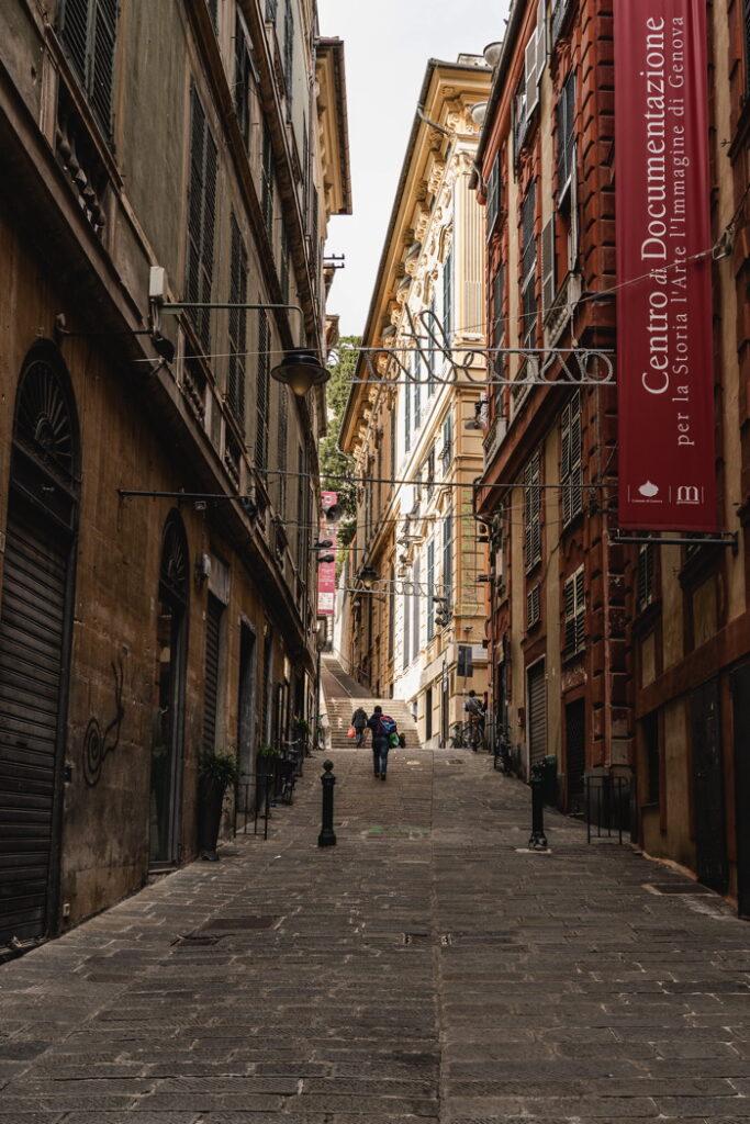 Rues de Gênes