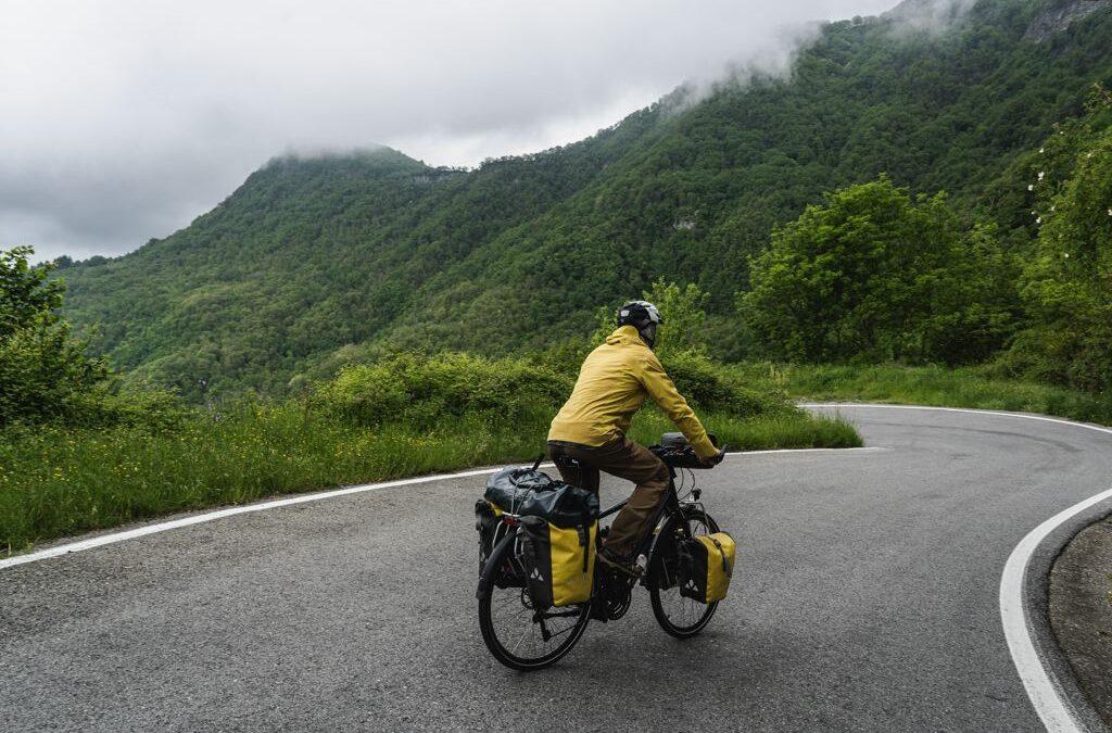 Entraînement voyage à vélo
