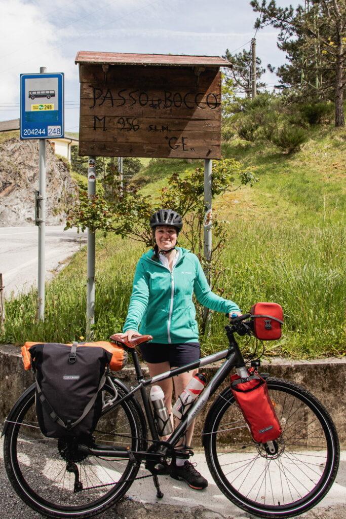 Passo del Bocco - 957 m - Italie à vélo